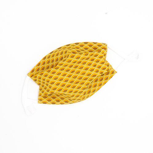 Masque en tissu à plis Santiago - normes AFNOR