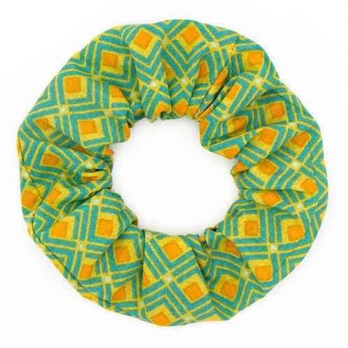 Chouchou Motifs Naloom jaune