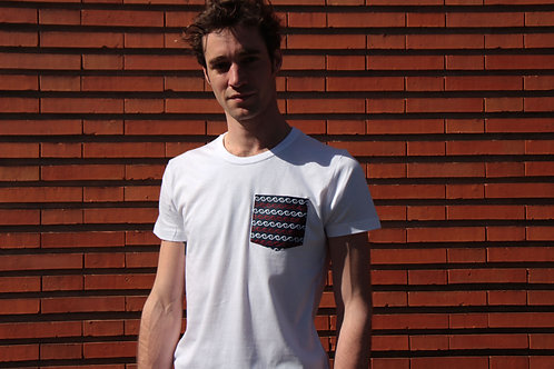 T-shirt poche - Navy