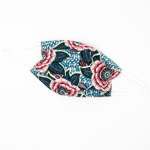 Masque en tissu à plis Bristol - normes AFNOR