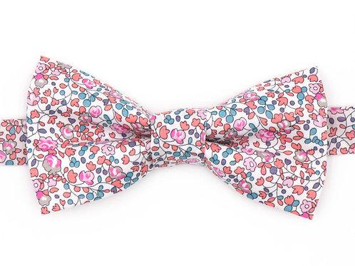 Noeud papillon Liberty fabrics - Rose Eloise