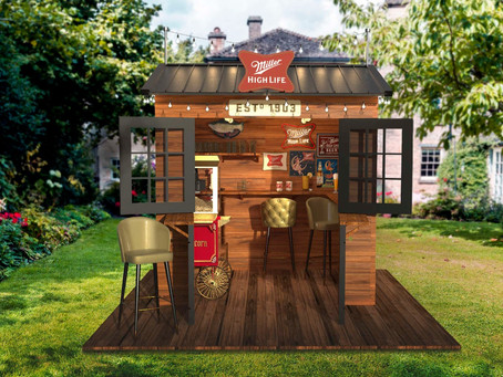Miller High Life Is Giving Away a Backyard Dive Bar and Free Beer