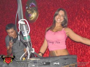 Jackie after spray tan at promo.jpg