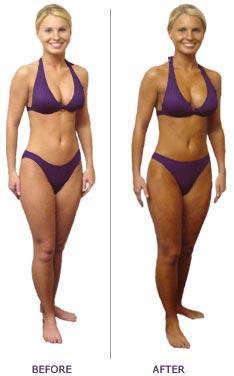 Tara before and after spray tan.jpeg