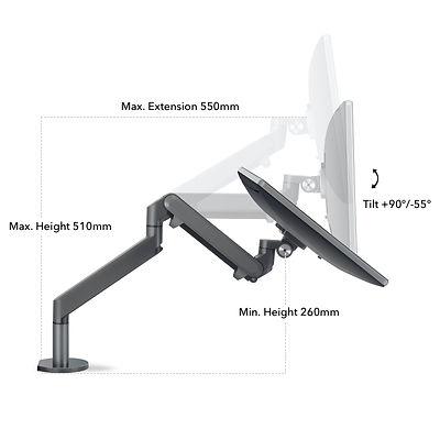 Sway Monitor Arm - Tilt