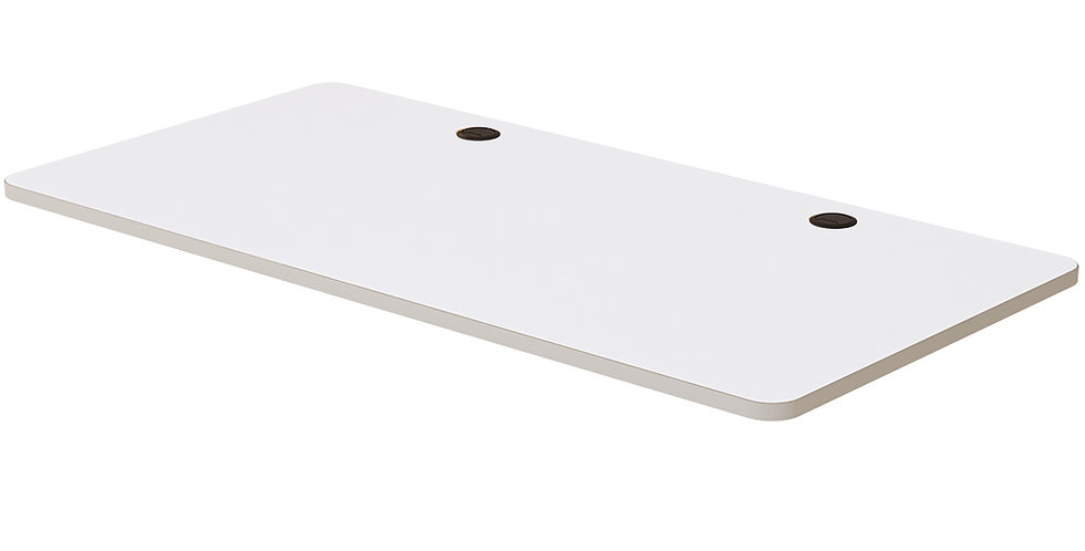 Laminated White Table Top