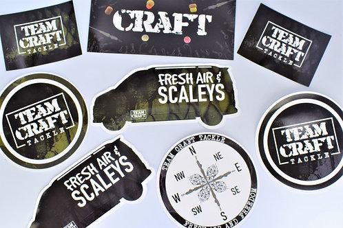 Team Craft Sticker Pack