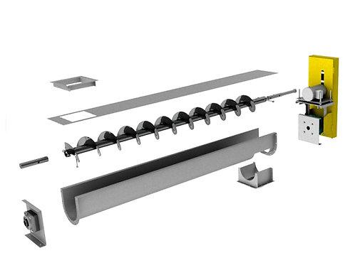 SCC Industries Screw Conveyors