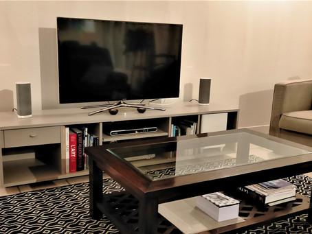 🎁 Comment un élément cuisine devient un meuble télé