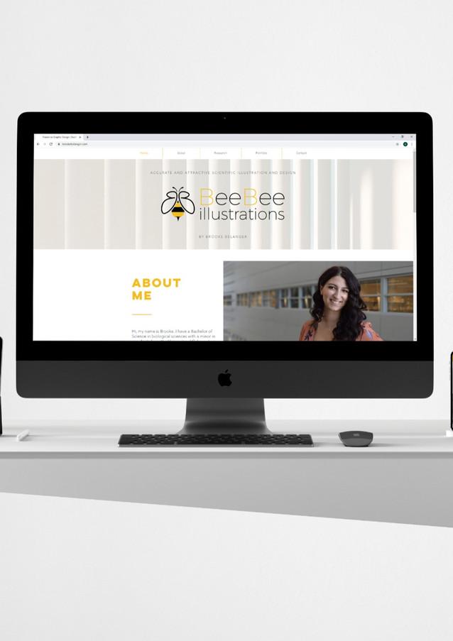 BeeBee Illusrations suite across platforms