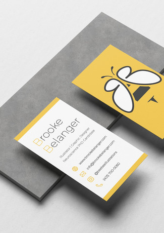 BeeBee Illustrations Business Cards
