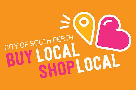buy local shop local graphic