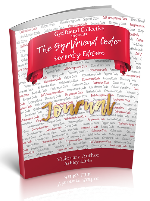 (40 Copies) GF Code Sorority Edition Journal