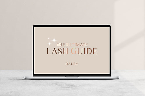 The Ultimate Lash Guide - Ebook