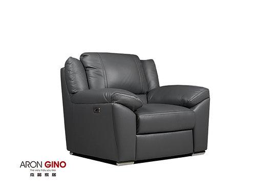 B895/ 單人座皮沙發/原裝進口/電動/USB充電/厚牛皮