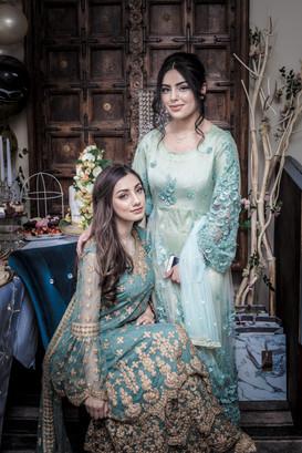Engagement photo shoot for couple at Indioz, Moseley. Wedding photographer Birmingham.