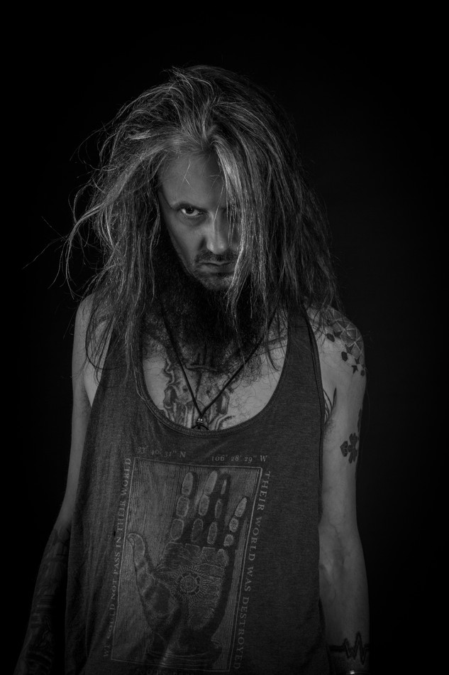 Artist profile portrait photography, musician portrait photography, Birmingham, West midlands.