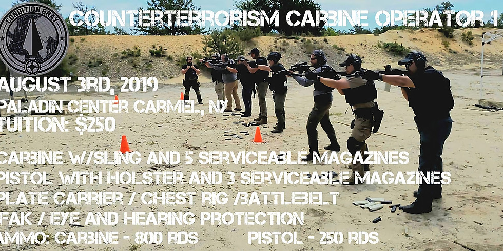 Counter Terrorism Carbine Operator 1