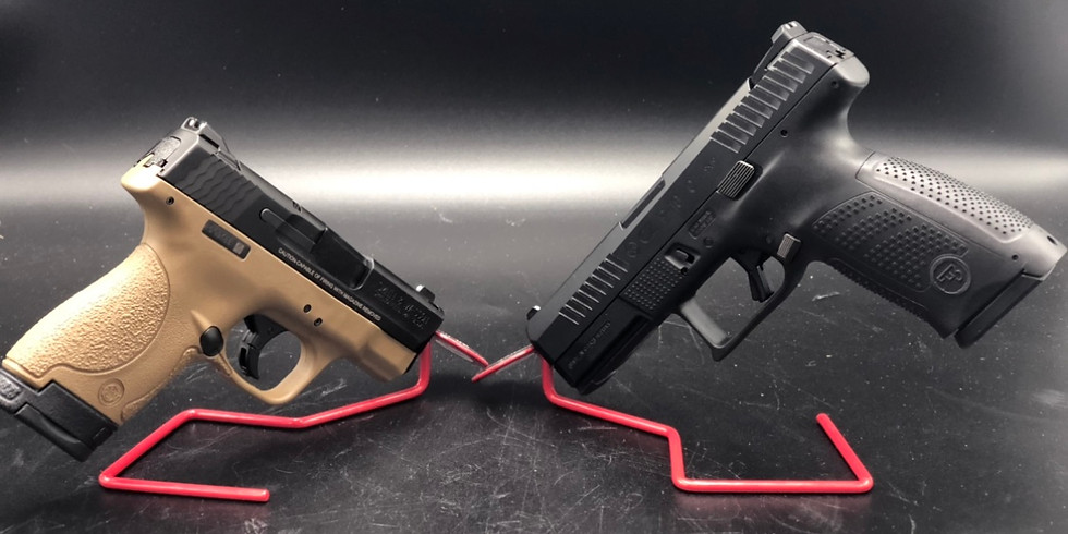 **SOLD OUT***Gun Raffle To Benefit Local Olympic Hopeful-Smith Shield and CZ P10