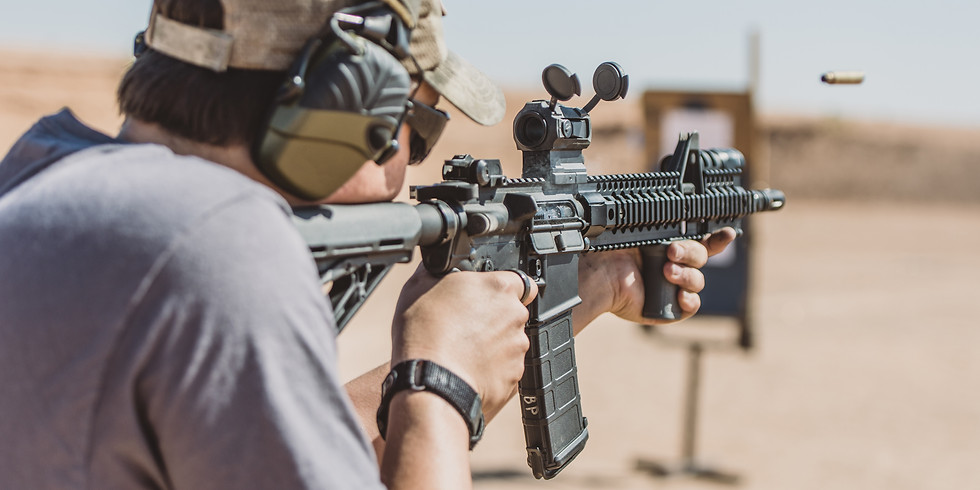 **SOLD OUT** Introduction to Carbine with Live Fire (June 26)