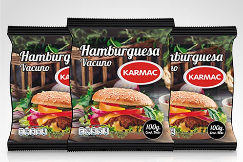 Caja Hamburguesas Premium Karmac