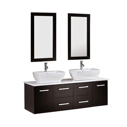 double sink bathroom vanity cabinets.  60 Double Sink Bathroom Vanity Cabinet KOKOLS