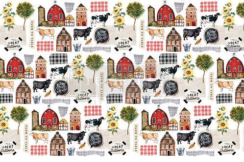 PM646400 - Decor Tissue Paper - Farm To Table