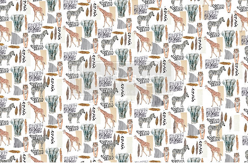 PM645373 - Decor Tissue Paper - Safari