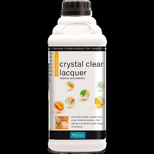 Crystal Clear Laquer Gloss/Satin 100ml