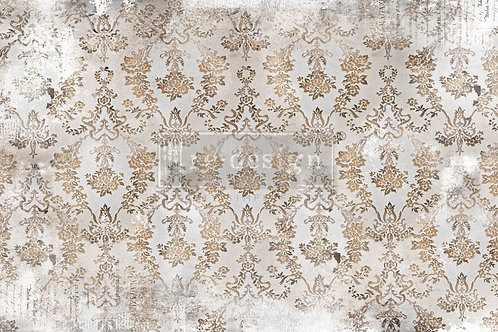 DÉCOR TISSUE PAPER – WASHED DAMASK  –