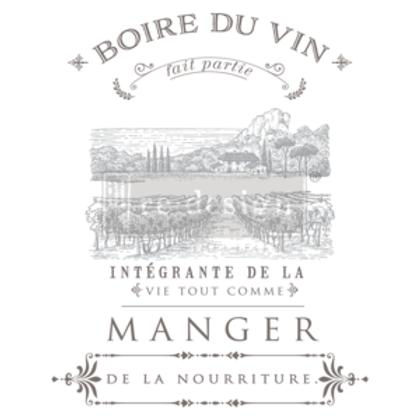 633059 TRANSFER Boire Du Vin