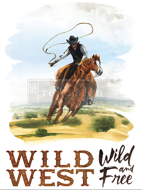 641825 -Transfer - Wild West-PRE-ORDER ONLY