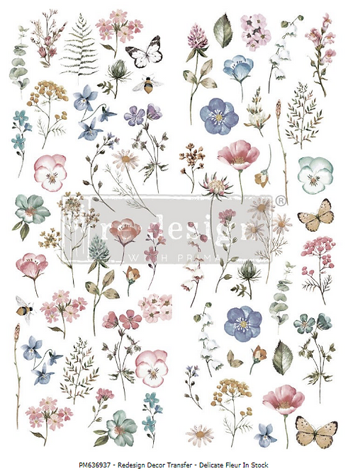 636937 TRANSFER  Delicate Fleur