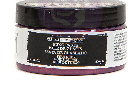 PM966201 - Art Extravagance Icing Paste-Fire Ruby