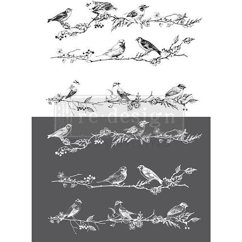 PM640767 - Transfer - Birds & Berries