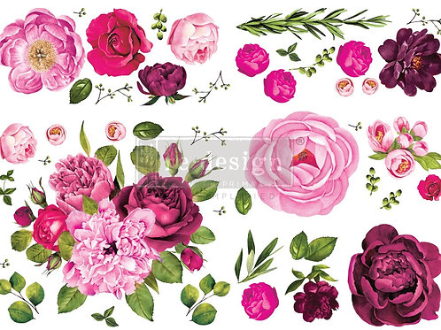 644215 - Transfer Lush Floral I
