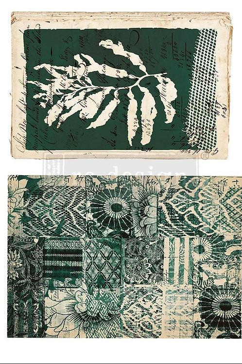 PM642327 - Transfer-Algae Print