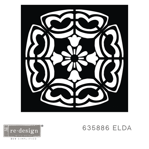 635886 STENCIL PAVER Elda PRE-ORDER ONLY