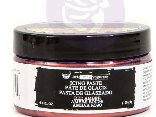 PM966195 - Art Extravagance Icing Paste-Red Amber