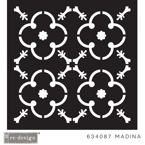 634087 STENCIL PAVER  Madina  Discontinued- LAST ONE!