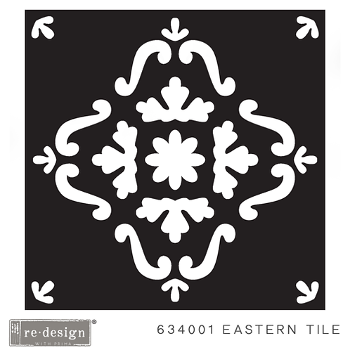 634001 STENCIL PAVER  Eastern Tile  Discontinued- LAST ONE!