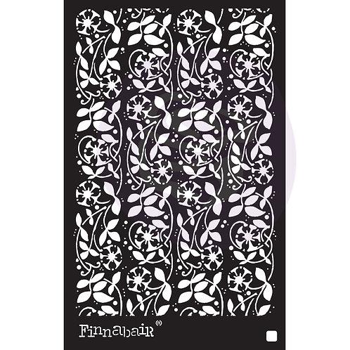 966676 - 6x9 Stencil - Passiflora