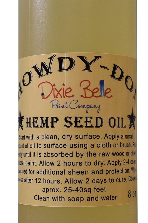 Howdy Do Hempseed Oil 8oz