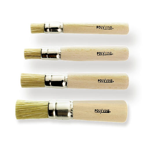 stencil brushes 5mm, 7mm, 10mm, 12mm. PRE ORDER