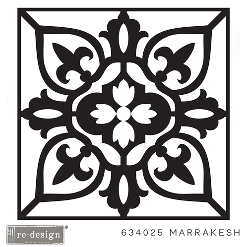 634025 STENCIL PAVER Marrakesh  Discontinued- LAST ONE!