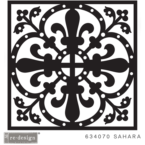 634070 STENCIL PAVER Sahara  Discontinued- LAST ONE!