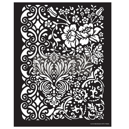 PM636265 - Redesign 3D Stencil - Patterns & Flowers