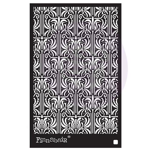 966645 - 6x9 Stencil - Iris Tapestry