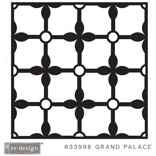 633998 STENCIL PAVER  Grand Palace  Discontinued- LAST ONE!