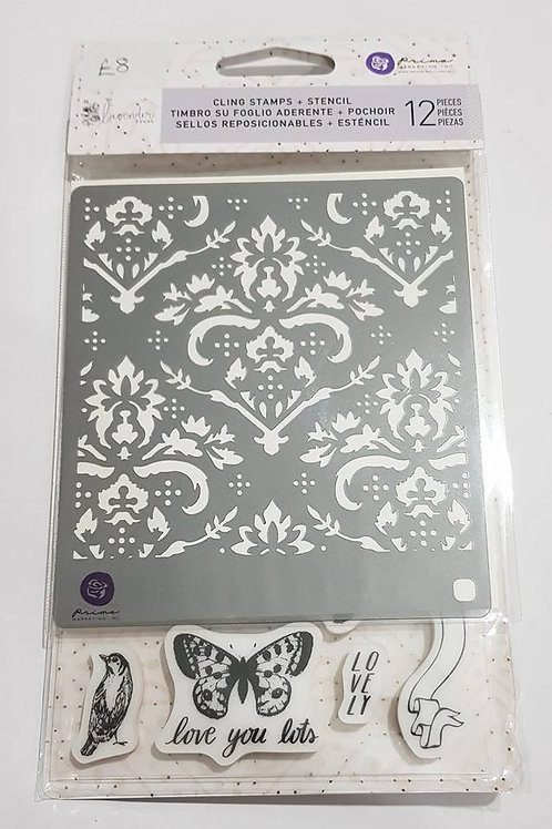 PM634353 Cling Stamps + Stencils